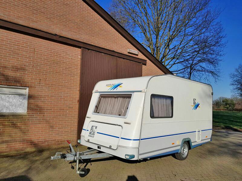 Knaus Caravan Met Stapelbed.Knaus Sudwind 3 90 Mtr Bj 98 Stapelbed Voorjaar Aanbieding